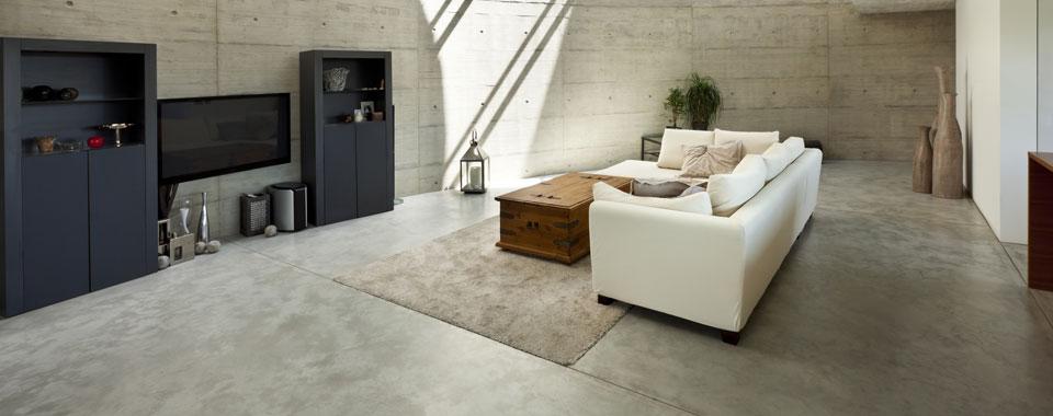 Designestrich Und Betonboden Sind Asthetische Fussboden