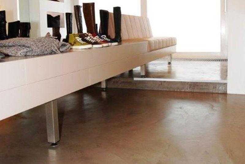 Betonboden Wohnbereich beton ciré designboden | bosus steinböden