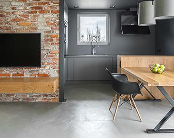 Designestrich Und Natursteinboden Fur Alle Wohnbereiche Bosus