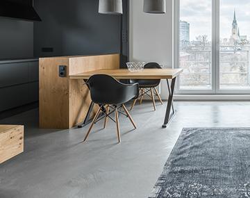 Fußboden Polierter Beton ~ Designestrich und natursteinböden für alle wohnbereiche bosus
